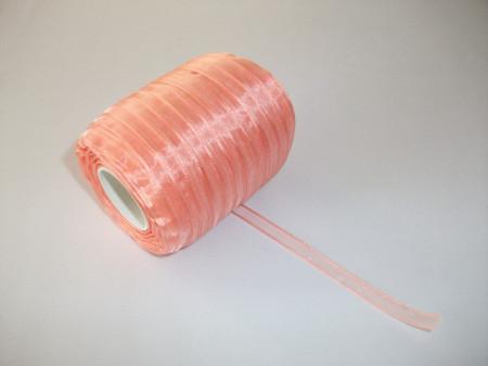 Panglica organza 6 mm - frez
