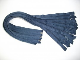 Fermoare detasabile #5 nylon 50,60,75,80,90 bleumarin