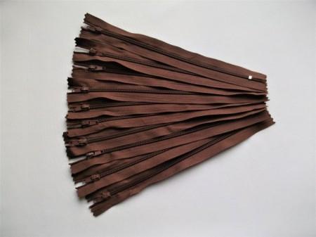 Fermoare fusta #3 - 20 cm maro roscat
