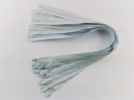 Fermoare lenjerie #3 - 50 cm gri albastrui