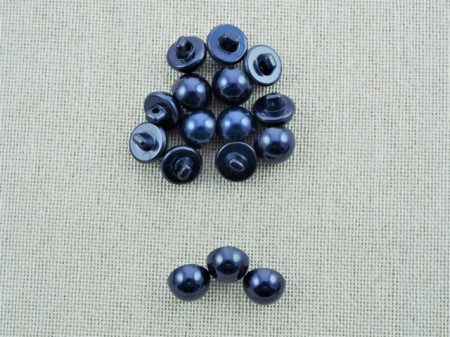 Nasturi perla M16 - bleumarin, cod12
