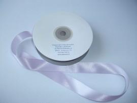 Panglica satinata ambele fete 20 mm lila