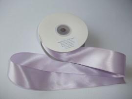 Panglica satinata ambele fete 38 mm lila