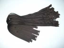 Fermoare detasabile #5 nylon 50,60,75,90 maro