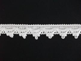 Galon Pamela alba - 25mm x25m