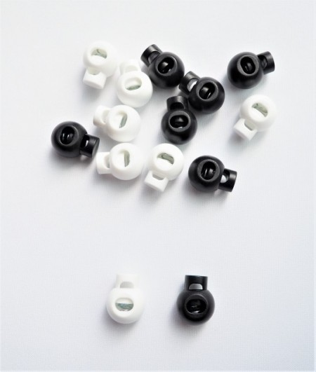 Opritori plastic snur (sferic) - 200buc