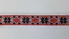 Elastic Trendy Ana 30mm (pe fond alb)