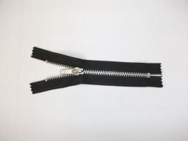 Fermoare fixe #5 aluminiu 14 cm negru