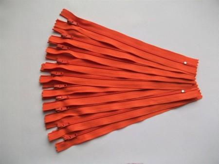 Fermoare fusta #3 - 20 cm portocaliu