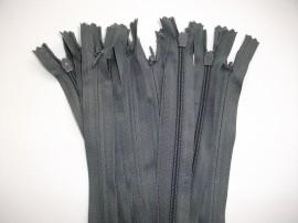 Fermoare invizibile 50 cm gri inchis, cod311