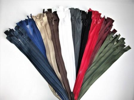 Set color fermoare detasabile #5 injectate 50,60,70,75,80 cm