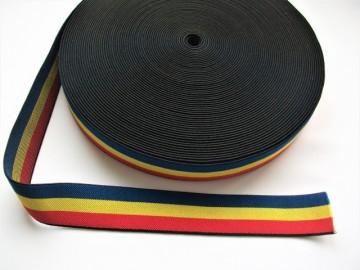 Tricolor Elastic 35 mm (rola de 25 m)
