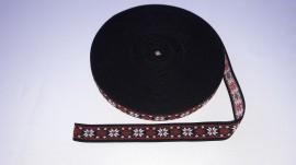 Elastic Trendy Ana 30mm (pe fond negru)