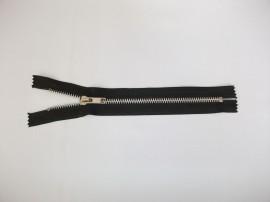 Fermoare fixe #5 aluminiu 20 cm negru