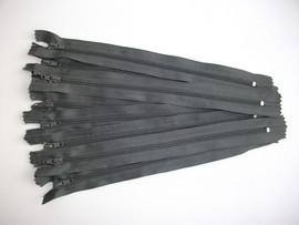 Poze Fermoare fusta #3 - 20 cm gri inchis