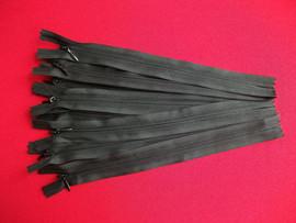 Fermoare invizibile 20 cm negru
