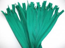 Fermoare invizibile 50 cm verde mediu, cod258