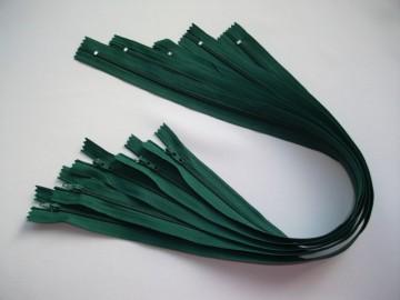 Poze Fermoare lenjerie #3 - 50 cm verde inchis
