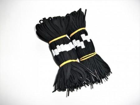 Siret negru pantofi 60, 75, 90 cm