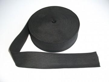 Elastic lat 80 mm alb sau negru