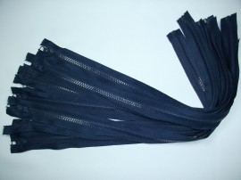 Fermoare detasabile #5 injectate 50,60,75 cm bleumarin
