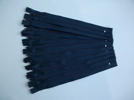 Fermoare fusta #3 - 20 cm bleumarin