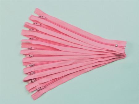 Fermoare fusta #3 - 20 cm roz inchis