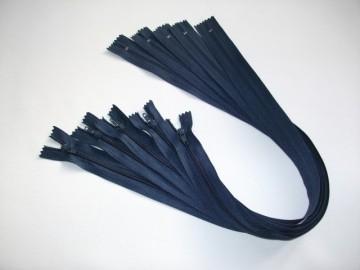 Fermoare lenjerie #3 - 50 cm bleumarin