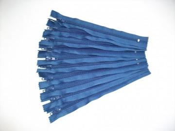 Fermoare pantaloni #5 - 20 cm albastru