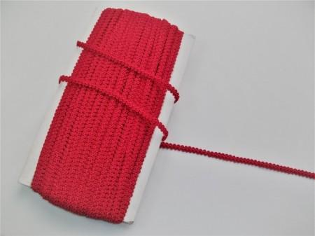 Poze *Galon Poliester 7mm, cod1848 -rosu