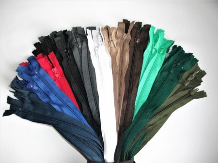Poze Set color fermoare detasabile #5 nylon 50,60,70,75,80,90