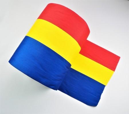 Tricolor 230 mm (rola de 50 m) - bandă pentru stegulețe