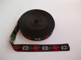 Banda tesuta Georgeta - 25 mm