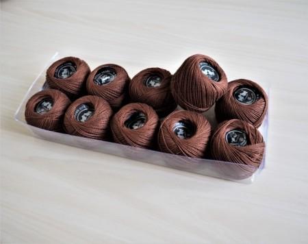 Cotton perle - maro