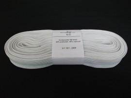 Elastic Oradea 30 mm alb si negru