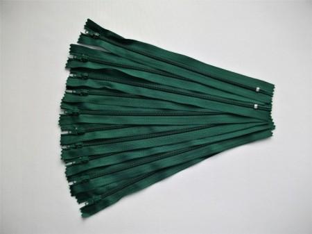 Fermoare fusta #3 - 20 cm verde inchis