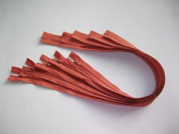 Fermoare lenjerie #3 - 50 cm caramiziu