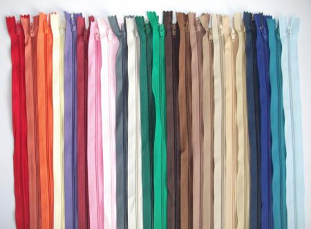 Fermoare lenjerie #3 - 50 cm culori asortate - 200 buc.