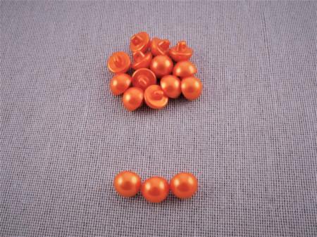 Nasturi perla M16 - portocaliu, cod17