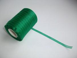 Panglica organza 6 mm - verde iarba