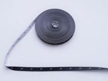 Etichete tesute 1000 buc - Marimea L (fond negru)