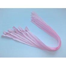 Fermoare lenjerie #3 - 50 cm roz deschis