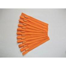 Fermoare nylon #3 - 10 cm portocaliu