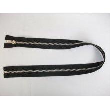 Fermoare detasabile #5 aluminiu negre 50, 60, 80, 90cm