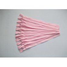 Fermoare fusta #3 - 20 cm roz