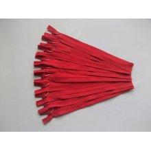 Fermoare invizibile 20 cm rosu sangeriu
