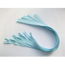 Fermoare invizibile 50 cm bleu, cod542