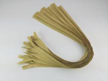 Fermoare invizibile 50 cm galben mustar, cod 131