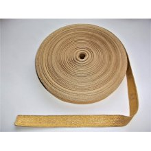 Galon bisericesc Sava 25 mm auriu cu galben