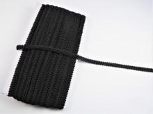 *Galon Poliester 11mm, cod1002 - negru